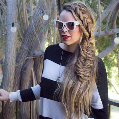 Side Braided Hairstyles by 27 Side Braid Hairstyle Designs Ideas Design Trends
