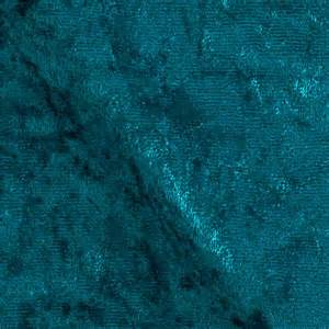 Upholstery Fabric Teal Stretch Panne Velvet Velour Teal Discount Designer