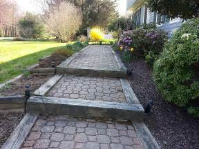 railroad ties landscaping how to make railroad ties landscaping front yard