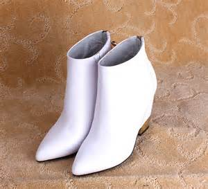 china factory top fashion women short boots pointed toe