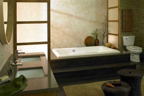 Asian Bathroom Design modern bathroom with an asian influence