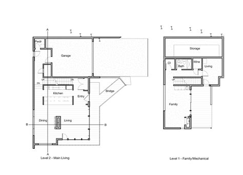 tree floor plan gallery of madison park tree house first l 17