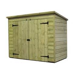 empire sheds ltd 7 x 3 wooden bike shed reviews