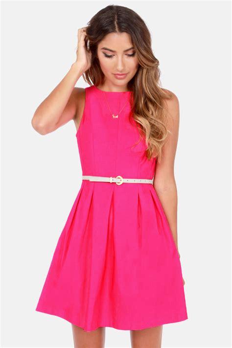 Pink Fuchsia Dress fuchsia dress pink dress sleeveless dress 42 00
