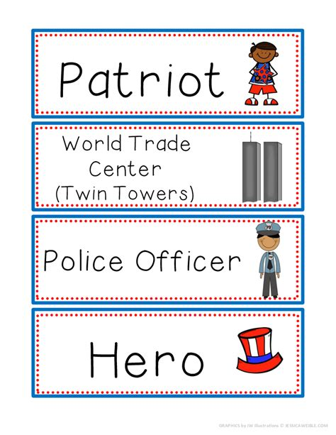 Patriot Day Worksheets by Patriot Day Literacy Activities More For September 11th