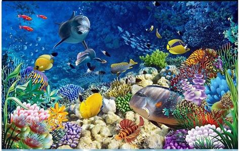 3d floor painting wallpaper underwater world mermaid 3d floor pvc 3d wallpaper custom 3d flooring painting wallpaper room