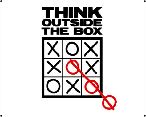 Think Out The Box think out side the box social media networks for business