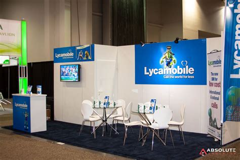 lyca mobile usa system exhibit rentals trade show displays trade show