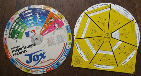 spinning wheel card template 2 baseball spinning wheel cards 1969 a play 1977