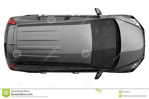 vehicle top view black suv car top view stock images image 22198964