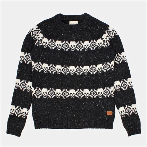 Sweater Deus Ex Machina 5 Hitam 1 17 best images about mens sweaters on cable