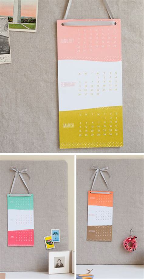 Diy Wall Calendar 15 Genius Diy Wall Calendar Projects Home Design And