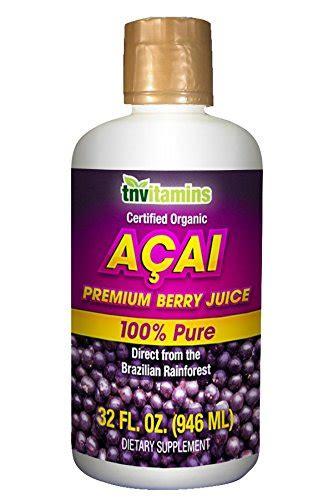 Bossa Acai Fruit Juice by Acai Berry Juice Certified Organic 32 Oz Buy In