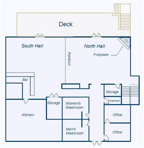 regulations and layout of a clubhouse clubhouse rental