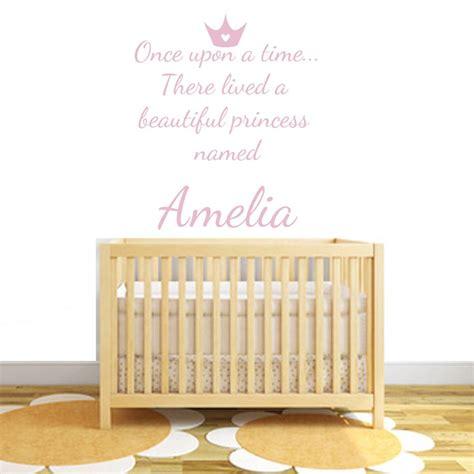 bespoke wall stickers personalised princess fabric wall stickers by littleprints notonthehighstreet