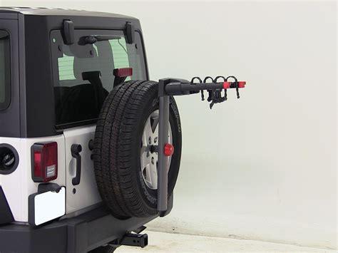 Tire Rack Hours by 2012 Jeep Wrangler Yakima Sparetime 2 Bike Carrier Spare