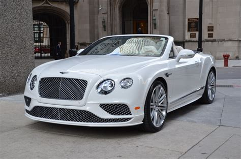 2017 white bentley convertible 2017 bentley continental gtc speed bentley