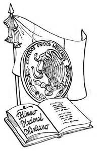 dibujos alusivos para colorear de los simbolos patrios peru pinto dibujos simbolos patrios mexicanos para colorear