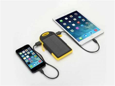 waterproof solar battery charger universal waterproof solar charger save 72 geeky gadgets