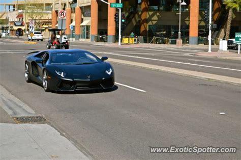 Lamborghini Scottsdale Az Lamborghini Aventador Spotted In Scottsdale Arizona On 03