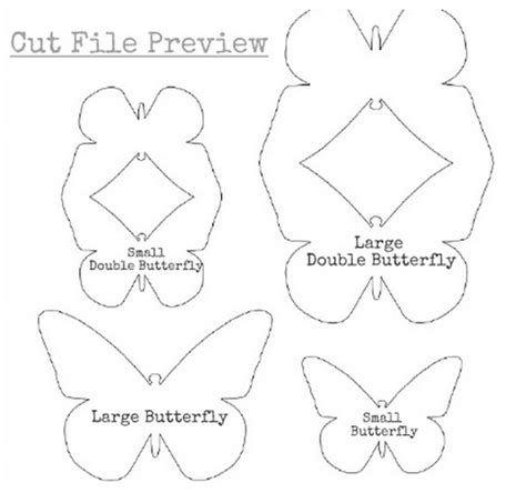 3d butterfly card template step by step to make a 3d butterfly card template