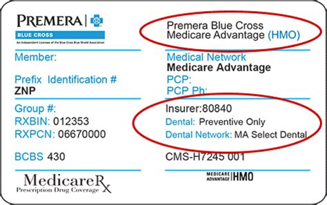 blue cross medicare advantage information for premera medicare advantage dental