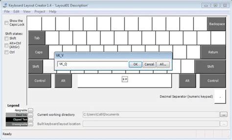 tutorial keyboard layout creator 1 4 microsoft keyboard layout creator bilder screenshots