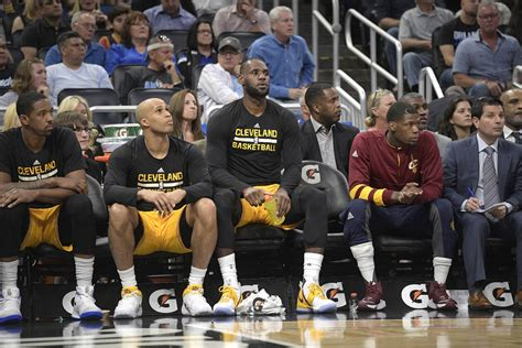 lebron on the bench las vegas family experiences nba resting players on trip