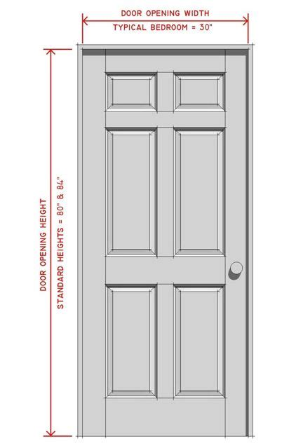 standard door measurements interior interior doors interior doors standard sizes