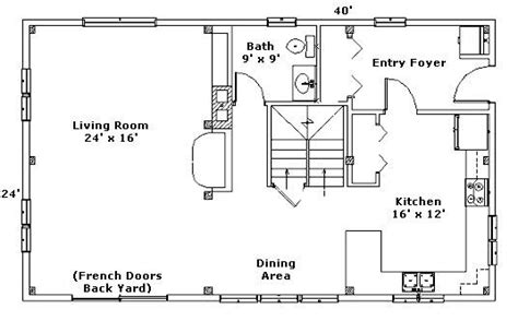 24x40 house plans 24x40 good floor plan dream home pinterest
