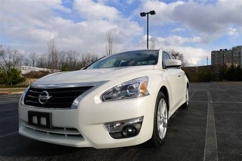 how petrol cars work 2013 nissan altima parental controls find used 2013 nissan altima 2 5 sv 38 mpg gas saver no reserve in silver spring maryland