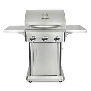 kitchenaid 4 burner propane gas grill in stainless steel