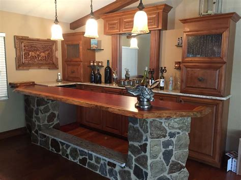 live edge bar top finished bar photo gallery bar rails parts hardwoods incorporated