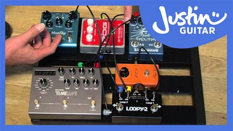 wiring  fx loop pedal board guitar lesson gg