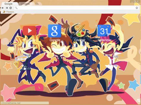 google chrome themes yugioh yugioh 5dxal chrome theme themebeta