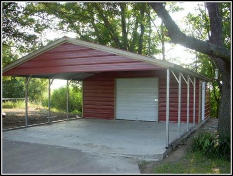 Carport With Shed Storage Shed With Carport Plans Sheds Home Decorating