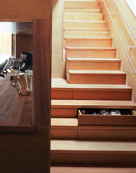 Stair Drawers Storage by Interior Design Impressive Stair Storage Solutions