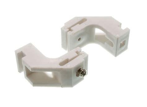 curtain rail brackets curtain rail brackets to fit whiteline track pack 4 no