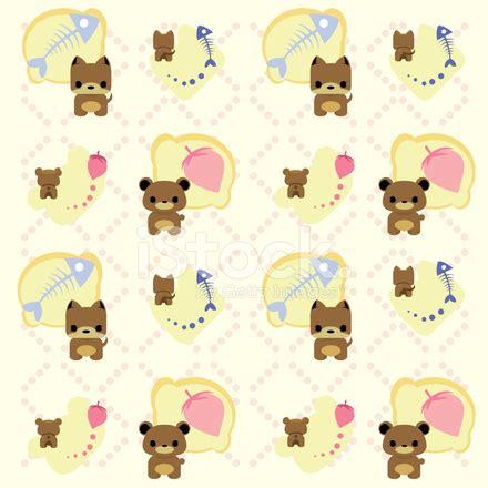 hotdog pattern cute cute cat and dog pattern background stock photos