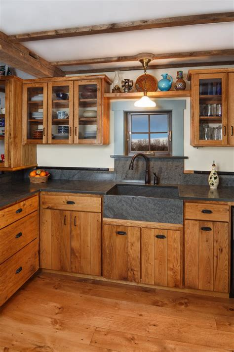 Farmhouse Style Kitchen Cabinets by Farm Style Custom Cabinets Stauffer Woodworking