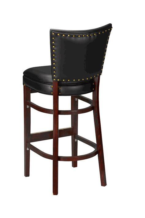 commercial wood bar stools regal seating model 2420uph commercial wooden bar stool