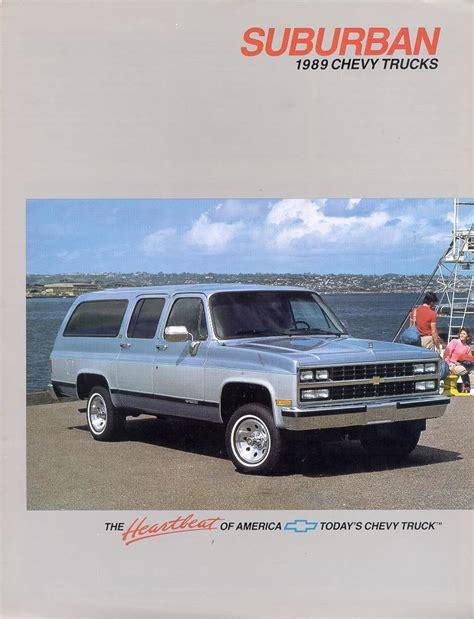 1989 chevrolet truck car brochures 1989 chevrolet and gmc truck brochures