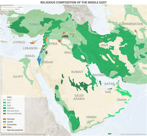 middle east map of religions maps that explain wars in the middle east and africa