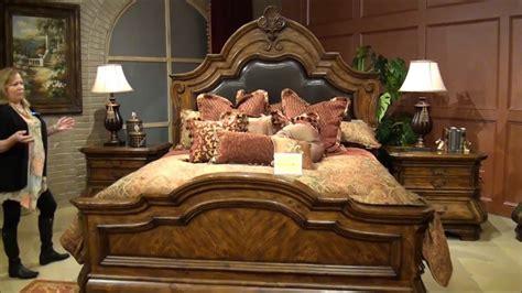 Tuscano Bedroom Furniture Tuscano Melange Bedroom Set By Michael Amini Aico Home Gallery Stores