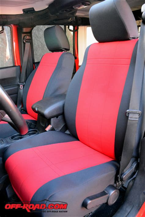 Jeep Jk Seats Caltrend Custom Seat Cover Install On Jeep Jk Wrangler