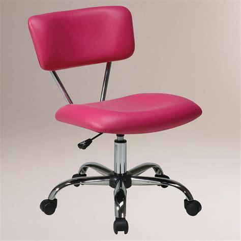 pink task chair world market