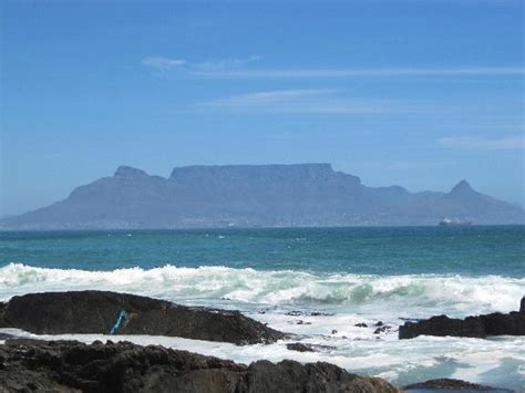 Table View by View Of Table Mountain Picture Of Bloubergstrand