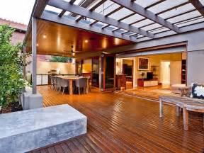 alfresco ideas indoor outdoor outdoor living design with verandah decorative lighting using slate outdoor