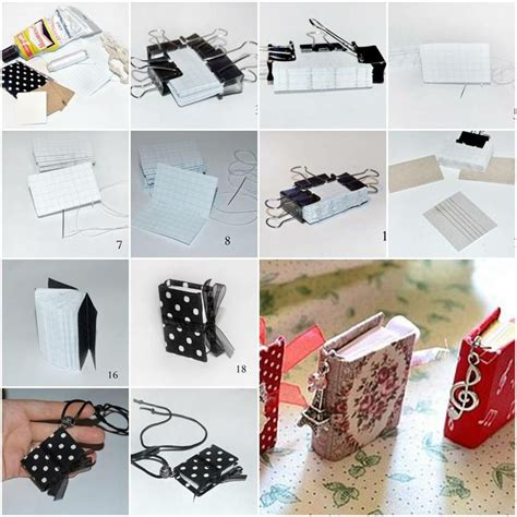 How To Make Notebook Paper Look - diy tutorial step by step and notebooks on