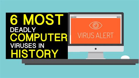 7 Deadliest Computer Viruses by The 6 Most Deadly Computer Viruses In History